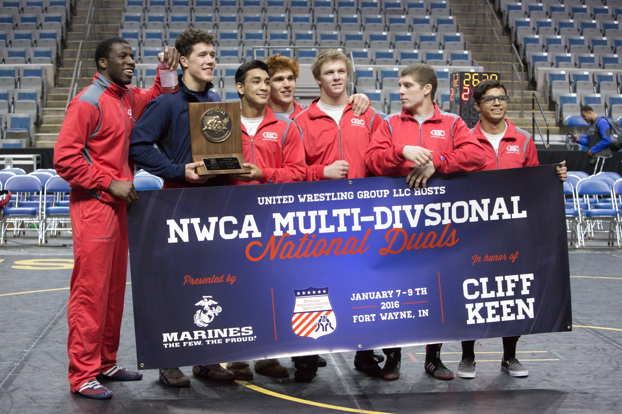 NWCA Multi Divisional National Duals 2017