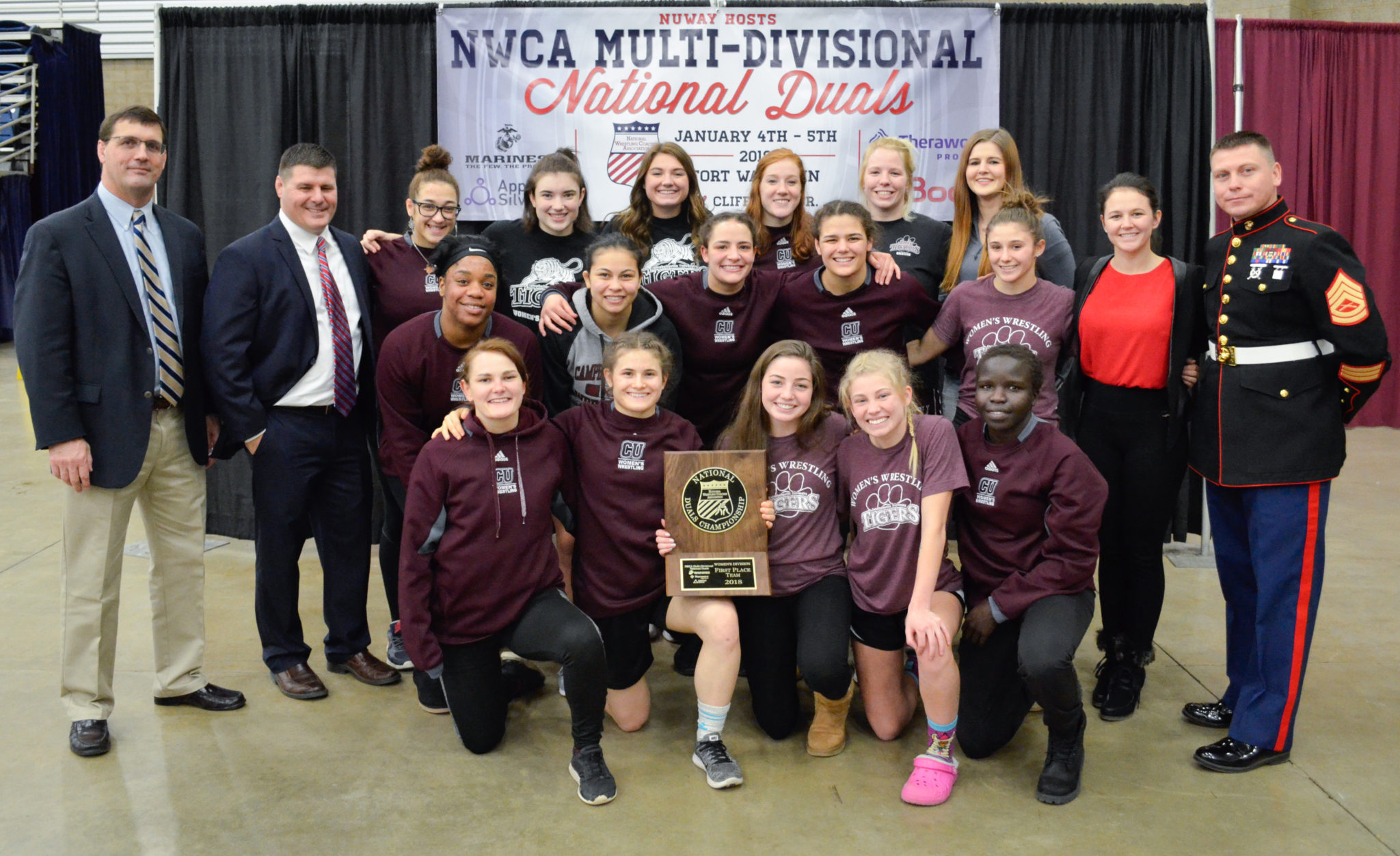 Campbellsville women steal the show at Multi Divisional National